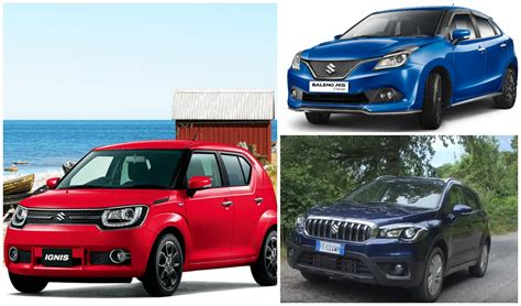 Upcoming Maruti Suzuki Cars Maruti Suzuki Upcoming Cars From Ignis Baleno Rs Vitara