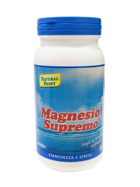 magnesio supremo e menopausa magnesio supremo in polvere 150 g