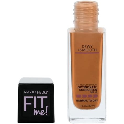 Fit Me Foundation Dewy Maybelline maybelline 174 fit me 174 dewy smooth foundation target