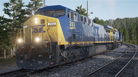 best railroad simulator sim world csx heavy haul free