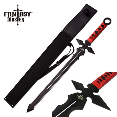 FANTASY MASTER CROSS OF BANE FANTASY SHORT SWORD