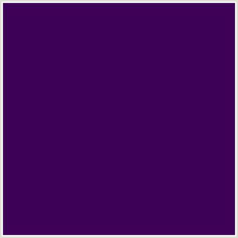 #3D0158 Hex Color   RGB: 61, 1, 88   PURPLE, RIPE PLUM, VIOLET