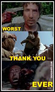 Walking Dead Glenn Meme - deadshed productions terrible mystery edition the