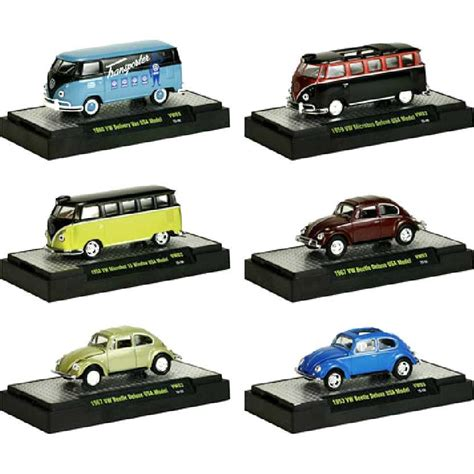 M2 Machines Volkswagen Beetle m2 machines volkswagen 3 vw kombi 3 vw beetle fusca