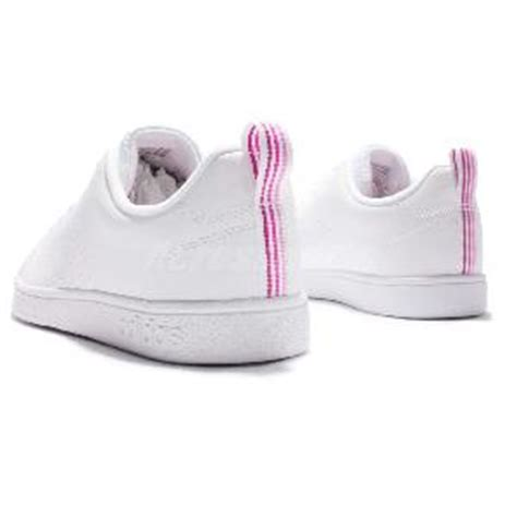 Adidas Neo Advantage Clean Vs White Pink For adidas neo label vs advantage clean w white pink casual shoes b74574 ebay