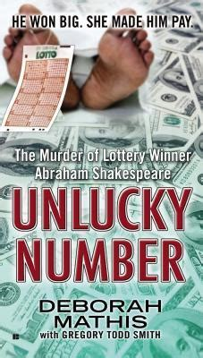 unlucky or not books unlucky number the murder of lottery winner abraham