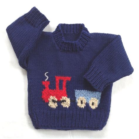 knit train sweater pattern toddler sweater 12 to 24 months knit train sweater
