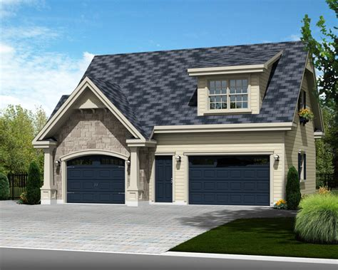 One Car Garage With Loft by Traditional Style House Plan 1 Beds 1 Baths 683 Sq Ft