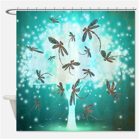 dragonfly shower curtains dragonfly art shower curtains dragonfly art fabric