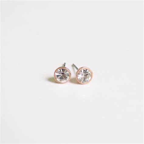 gold stud earrings stylish earrings simple earring
