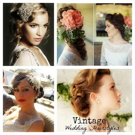 Vintage Wedding Hairstyles – Vintage Inspired Wedding Hairstyles   MODwedding