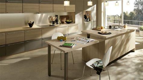 superr kitchen ilot central avec coin repas int 233 gr 233 idee pour future