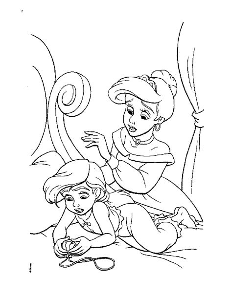 the little mermaid 2 coloring pages az coloring pages