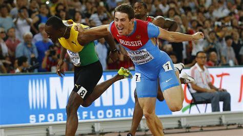 hurdles basketball russian sergey shubenkov wins 110m hurdles gold world