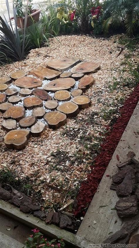 imagenes de jardines con troncos peque 241 o jard 237 n con troncos decoraci 243 n de interiores y