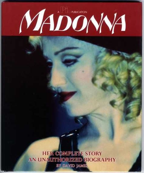 biography madonna book madonna her complete story biography book