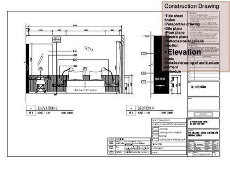 interior section drawing interior architecture drawings
