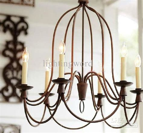 Dining Room Chandeliers Wrought Iron Nordic Mediterranean Iron Chandelier Bend Pipe Light