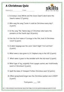 2008 12 christmas trivia questions and answers html