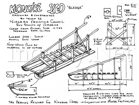 sle blueprints sled plans woodworking 187 plansdownload
