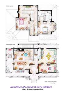 Home Interior Design Tv Shows by Floor Plans Of Homes From Tv Shows