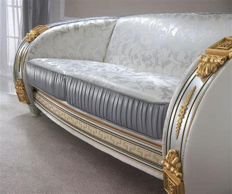 divano liberty divano classico di alta qualit 224 con preziosi tessuti