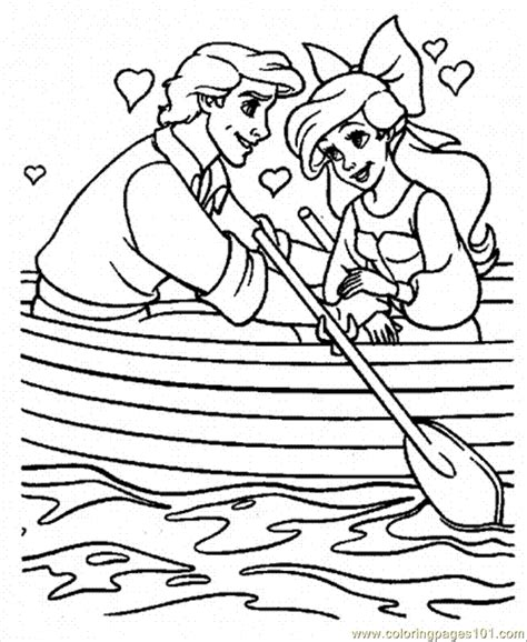 coloring pages ariel and eric ariel and eric coloring pages coloring home