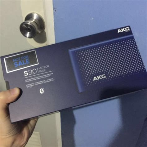 Akg S30 Blutooth Speaker akg s30 bluetooth speaker electronics audio on carousell