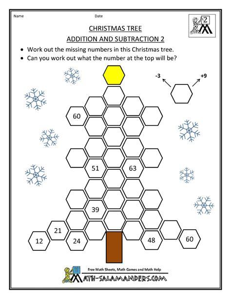 christmas algebra projects math activities
