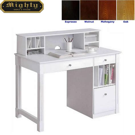 dresser with desk top home reading room hutch top white office desk furniture
