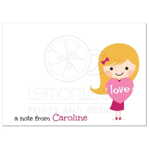 rental house how to personalize a little girls bedroom blond girl with love heart personalized notecard