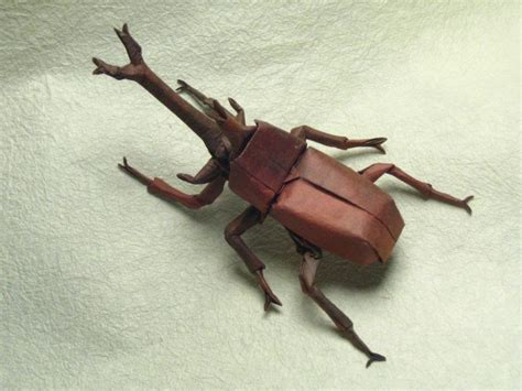 Fly Origami - insect origami damn cool pictures