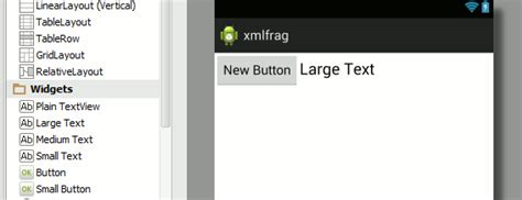 android layout xml parser android adventures fragments and xml