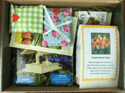 Gardening Subscription Box by Jade Canopy Cyber Monday Gardening Subscription Box Deal