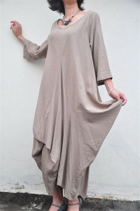great wall clothing linen cotton pleated half