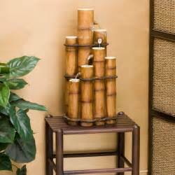 bamboo furniture and decoration with asian flair room
