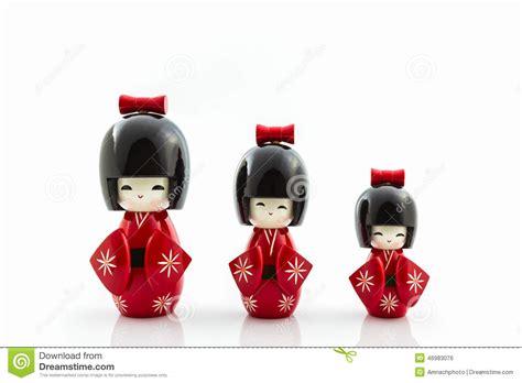 imagenes de japonesas muñecas mu 241 ecas japonesas del kokeshi foto de archivo imagen