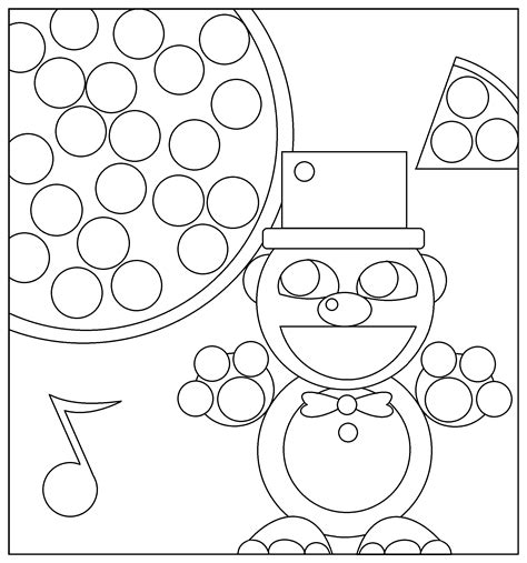 five nights of freddy coloring pages 5 night freddy free coloring pages
