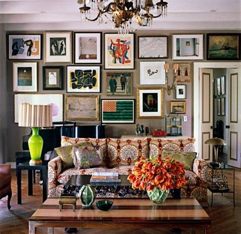 picture frame ideas for home decoration homestylediary com eclectic interior design with a lot of frames decor