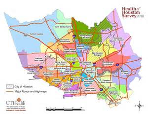 houston area code map mapping the houston area research the of