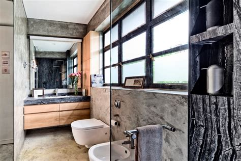 Huge Wall Murals 30 awesome industrial bathroom design ideas