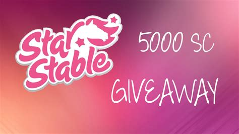 star stable giveaway 2016 star stable 5000 sc giveaway closed youtube