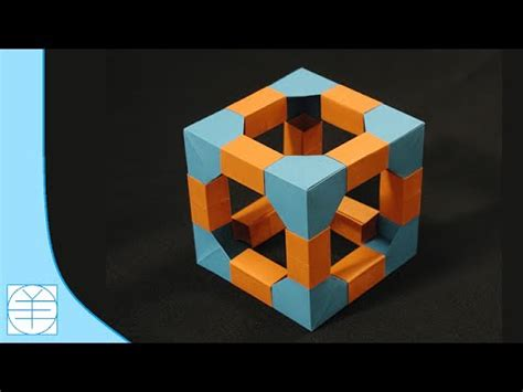 Origami Cube Ring - origami cube ring tutorial vidoemo emotional unity