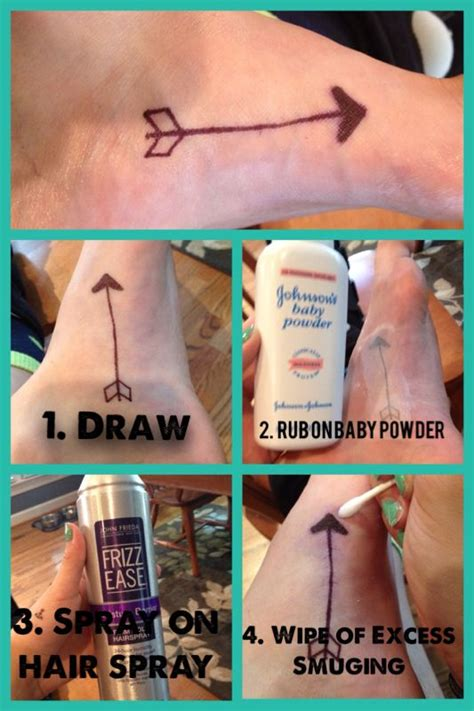 how to make a temporary tattoo with sharpie 17 best images about diy tattoos on nose