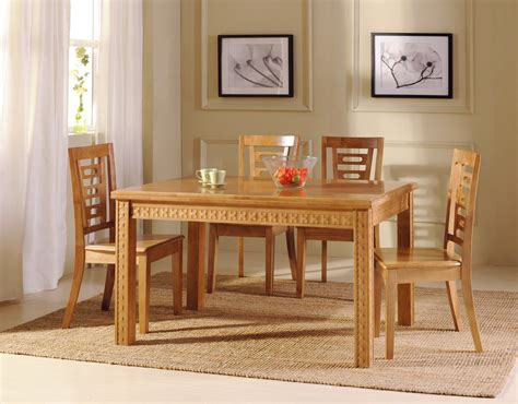 design of wooden dining set from chaina wood the house