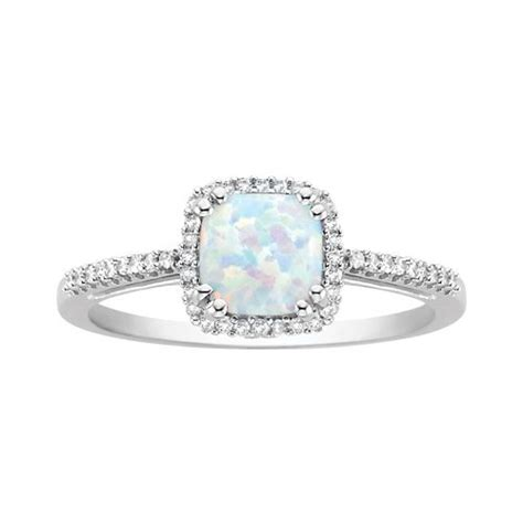 october birthstone opal diamonds custom opals diamonds and rings on