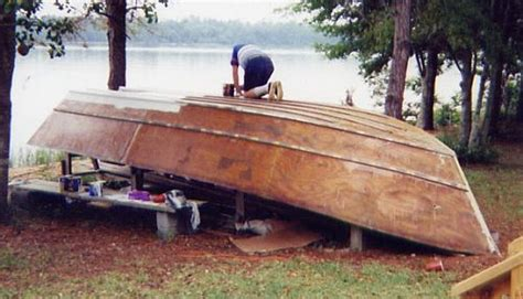backyard boatbuilding backyard boatbuilding class cd boat plans pic444a