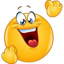 cheering smiley symbols emoticons