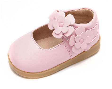 toddler squeaky shoes princess flower maryjane toddler squeaky shoes pink jpg