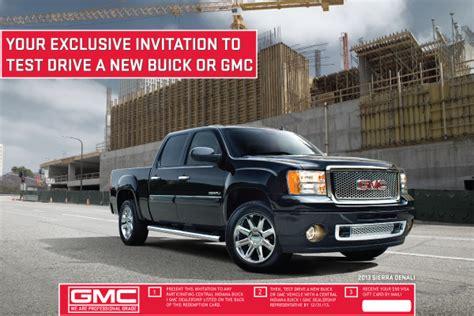 gmc customer loyalty programs autos post